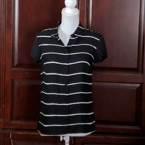 NWT Jones New York signature striped top size 4